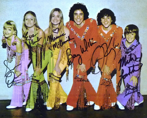 THE BRADY BUNCH signed autographed photo COA