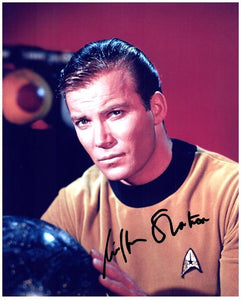 WILLIAM SHATNER signed autographed photo COA
