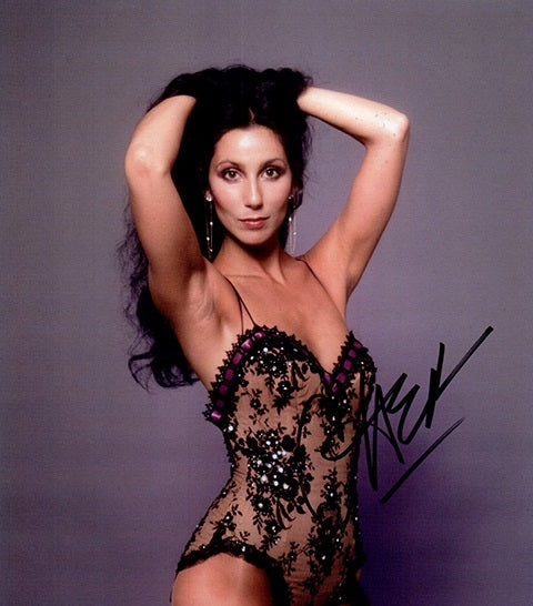 CHER signed autographed photo COA