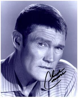 CHUCK CONNERS signed autographed photo COA