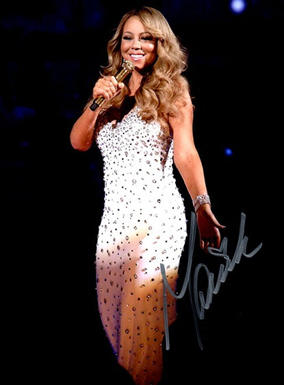 MARIAH CAREY signed autographed photo COA