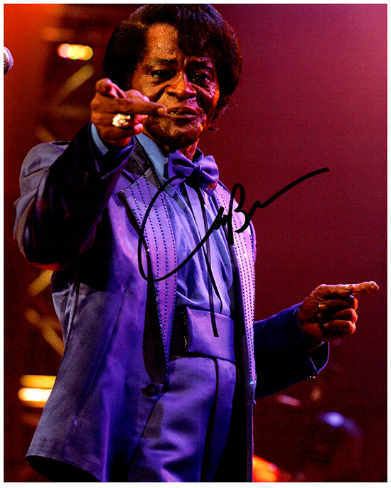 JAMES BROWN signed autographed photo COA