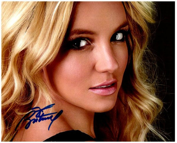 BRITNEY SPEARS signed autographed photo COA