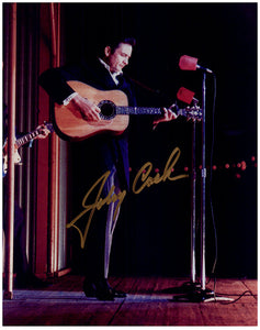 JOHNNY CASH signed autographed photo COA