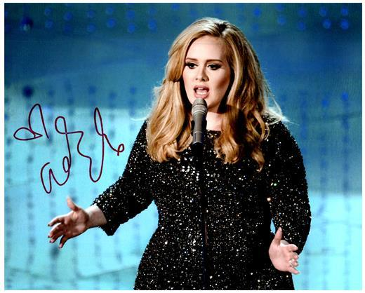 ADELE signed autographed photo COA