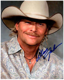 ALAN JACKSON signed autographed photo COA