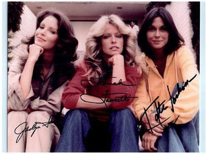 CHARLIE'S ANGELS CAST signed autographed photo COA
