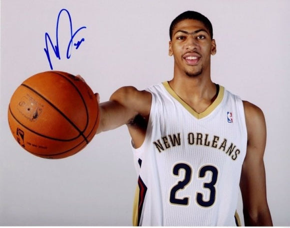 ANTHONY DAVIS signed autographed photo COA