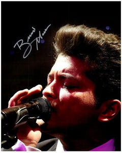 BRUNO MARS signed autographed photo COA