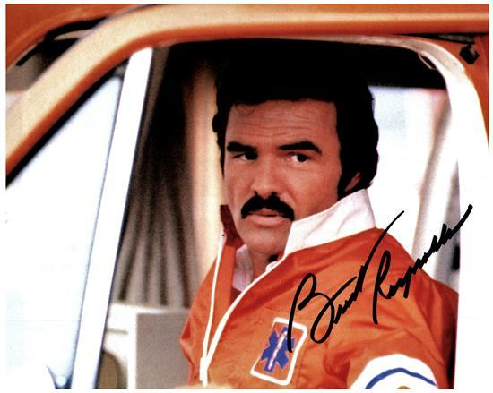 BURT REYNOLDS signed autographed photo COA