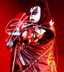 GENE SIMMONS signed autographed photo COA