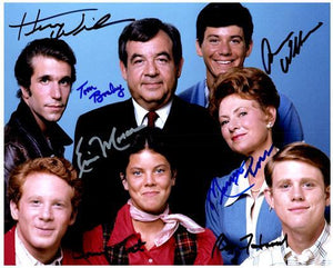 HAPPY DAYS CAST signed autographed photo COA