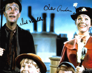 MARY POPPINS CAST signed autographed photo COA