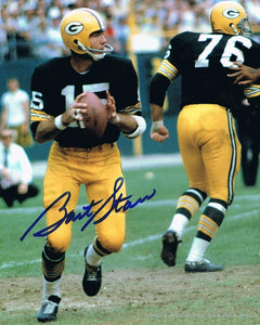 BART STARR signed autographed photo COA