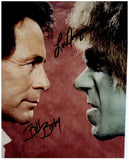 INCREDIBLE HULK CAST signed autographed photo COA