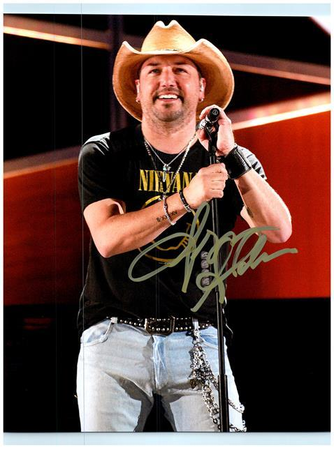 JASON ALDEAN signed autographed photo COA
