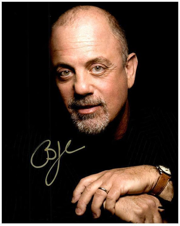 BILLY JOEL signed autographed photo COA