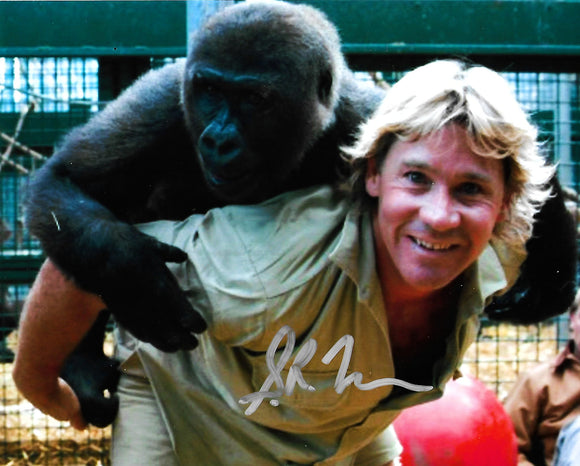 STEVE IRWIN signed autographed photo COA