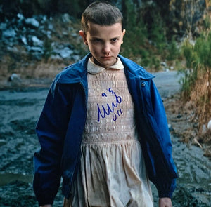 MILLIE BOBBY BROWN signed autographed photo COA