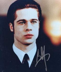 BRAD PITT  signed autographed photo COA