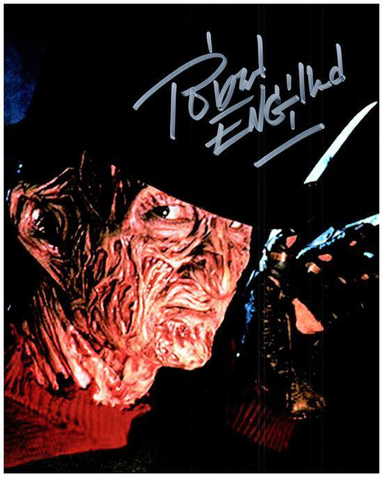 ROBERT ENGLUND signed autographed photo COA
