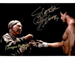 ROCKY CAST SLYVESTER STALLONE signed autographed photo COA