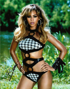 BEYONCE signed autographed photo COA