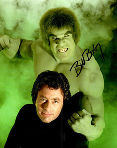 BILL BIXBY signed autographed photo COA