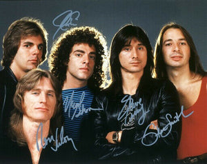 JOURNEY BAND signed autographed photo COA
