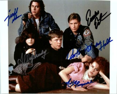 THE BREAKFAST CLUB signed autographed photo COA