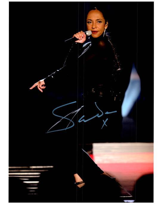 SADE signed autographed photo COA