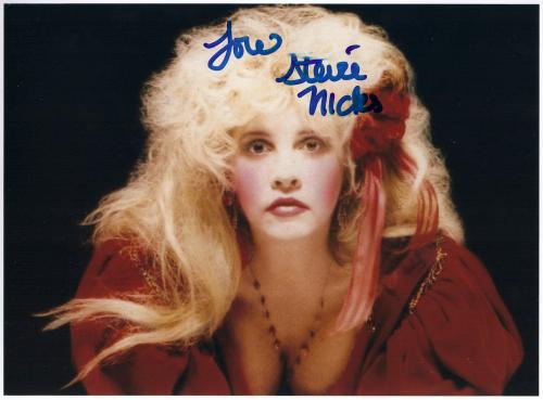 STEVIE NICKS signed autographed photo COA