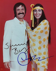 SONNY AND CHER signed autographed photo COA