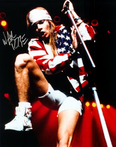 AXL ROSE signed autographed photo COA