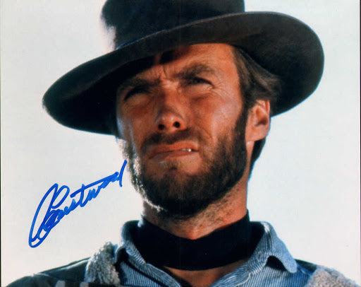 CLINT EASTWOOD The Outlaw Josey Wales signed autographed photo COA