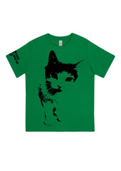 Cat Frontin', 100% Organic Cotton, for the Kids - Simple Animal  - 3