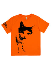 Cat Frontin', 100% Organic Cotton, for the Kids - Simple Animal  - 4