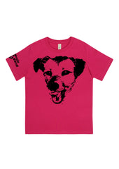 Happy Dog, 100% Organic Cotton, for the Kids - Simple Animal  - 3