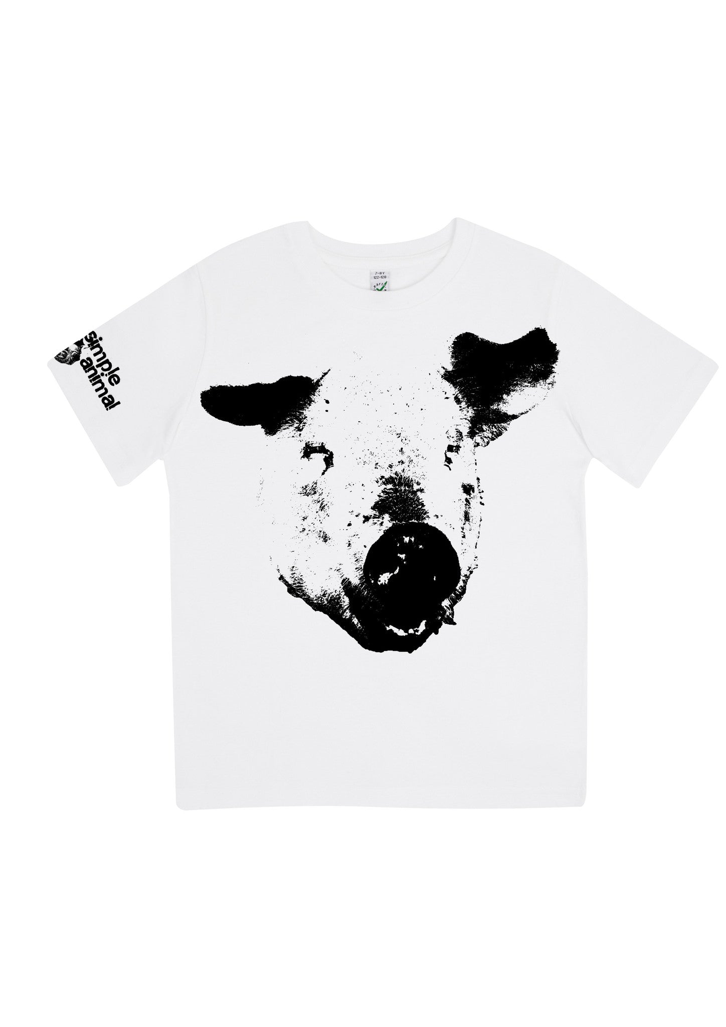 The Pig, 100% Organic Cotton, for the Kids - Simple Animal  - 2