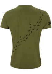 Ants Wrap-around T-Shirt, 100% Organic Cotton, Guys - Simple Animal  - 4