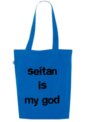 Seitan is my God, Bag, 100% Organic Cotton - Simple Animal  - 4