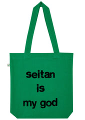 Seitan is my God, Bag, 100% Organic Cotton - Simple Animal  - 1