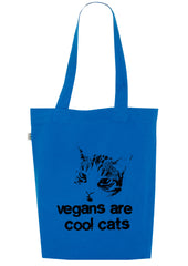 Vegans are Cool Cats, Bag, 100% Organic Cotton - Simple Animal  - 2