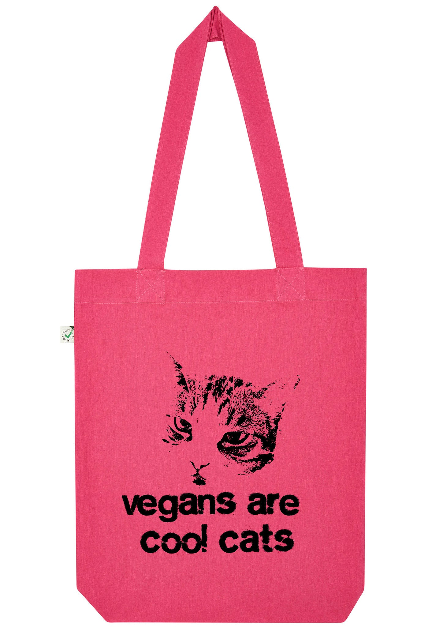 Vegans are Cool Cats, Bag, 100% Organic Cotton - Simple Animal  - 1