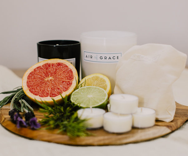Air of Grace Lavender, Pink Grapefruit & Citrus Candles