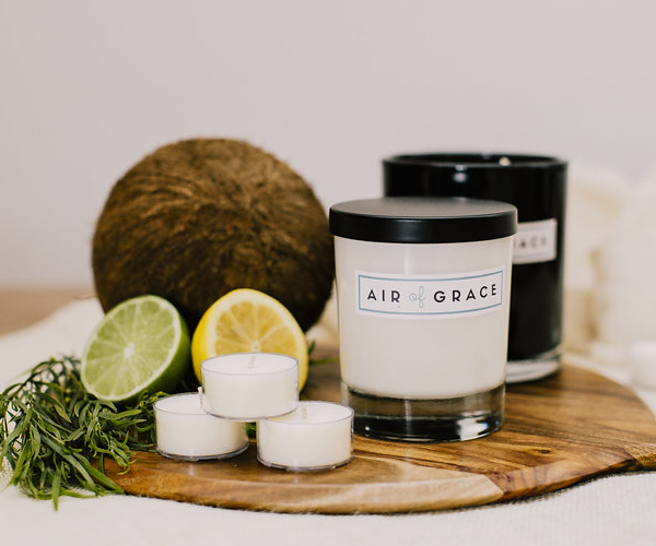 Air of Grace Coconut & Citrus Candles