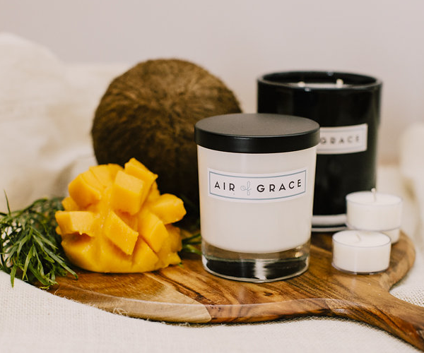 Air of Grace Coconut & Mango Candles