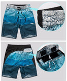Men's Fashion Board Shorts Map Printing