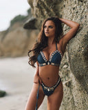 Sexy Shell Beaded  Handmade Crochet High Quality Swimsuit