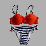 2017 New Swimwear Women Bikini Candy Colors Swimsuits